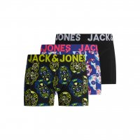 Boxer 3-pack JACCOLORFULL Skull