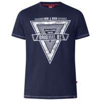 T-shirt Gary Dark Navy