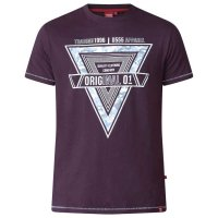 T-shirt Gary Dark Plum