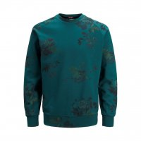 JORHANSON SWEAT CREW NECK PS Deep Teal