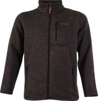 Jacka Flatfleece True North Svart