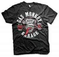 Gas Monkey Garage Round Seal T-Shirt