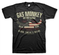 Gas Monkey Garage American Viking T-Shirt