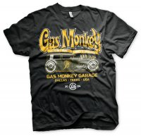 Gas Monkey Garage - Green Hot Rod Tee