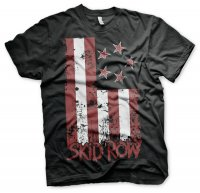 Skid Row - Stars & Stripes T-Shirt