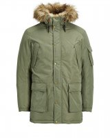 Jorlatte parka jacket Dusty Olive