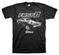 The Fate Of The Furious - Fast 8 Dodge T-Shirt
