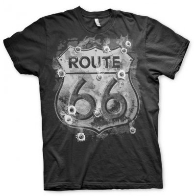 Route 66 Bulletholes T-Shirt