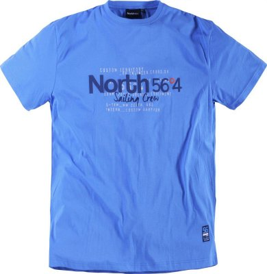 T-shirt North 56 Sailing crew blå
