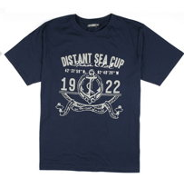 Distant sea cup t-shirt