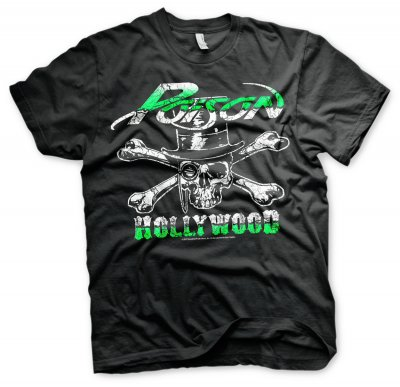 Poison - Hollywood Skull T-Shirt