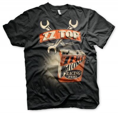 ZZ-Top High Octane Racing Fuel T-Shirt