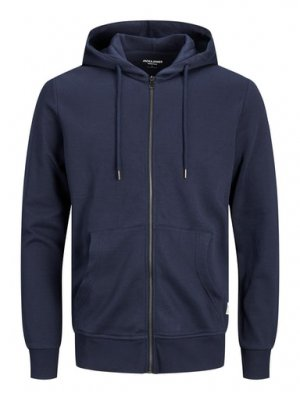 Zip-hood BASIC Jack & Jones Navy