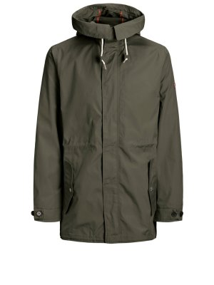 Jacka Parkas JORJOURNEY Dusty olive