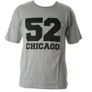 T-shirt Chicago 52 ljusgrå