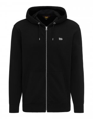 Basic Zip-hoodie LEE SP01 Svart