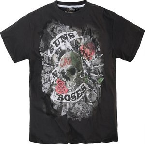 T-shirt Replika 61381 Guns N Roses svart