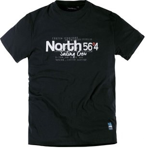 T-shirt North 56 Sailing crew svart