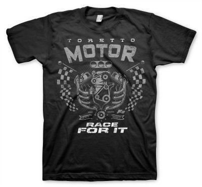 The Fate Of The Furious - Toretto Motor - Race For It T-Shirt