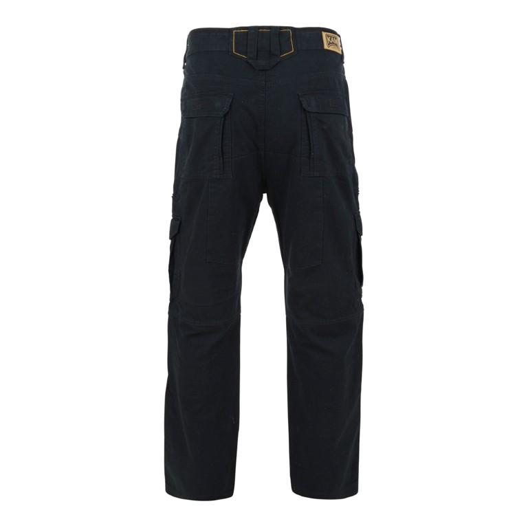 Cargobyxor Svart KAM Jeans 118